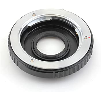 2nd Generation Confirmation Chip Pixco AF Confirm Focus Infinity Adapter Pentax K Mount PK Lens to Canon EOS Camera