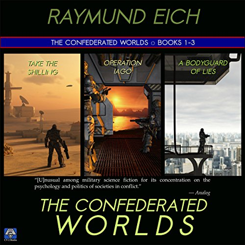 The Confederated Worlds audiobook cover art