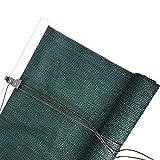 MYLW Persiana Enrollable Verde Oscuro Persianas Enrollables Exteriores con Accesorios, Patio/Porche/Puerta De Entrada/Garaje Pantalla De Privacidad De Cortinas Enrollables - 100cm / 120cm / 140cm / 1
