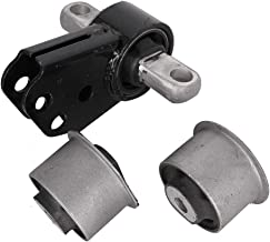 Front Differential Mount Set, 1 Front Axle Mount & 2 Front Axle Bushing, Fit for 2005-2010 Jeep Grand Cherokee & 2006-2010 Jeep Commander, Replace 52114354AA 52089516AB