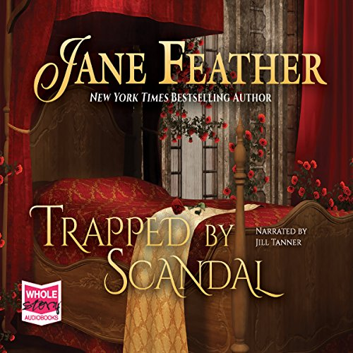 Trapped by Scandal audiobook cover art