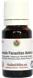 Huiles Utiles - La Formule Parasites Animaux - 10 ML