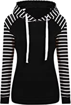 Women's Hoodies, FORUU Lace Patchwork Hooded Sweatshirt Pullover Coat Outerwear Tops