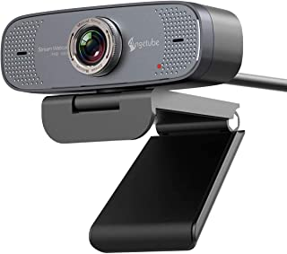 1080P USB Webcam with Mic PC Camera for Video Calling & Recording Video Conference/Online Teaching/Business Meeting Compat...