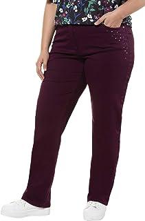 ULLA POPKEN Jeans, Verkürzt Straight Donna