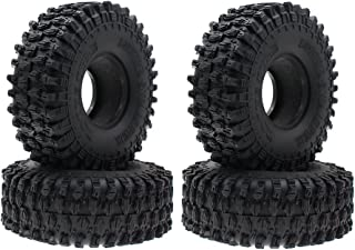4PCS 4.7 Inch Outer Diameter RC Crawler Tires,1.9 Inch Tires for Axial SCX10 90047 SCX10 III AXI03007 Traxxas TRX-4