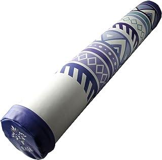 Ms. RAJA インテリアに映える デザイン ヨガポール PUレザー カバー 100cm ロング タイプ MRG