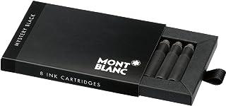 MONTBLANC モンブラン 万年筆 インク カートリッジ ミステリーブラック 黒 8本入り 正規輸入品 MB105191
