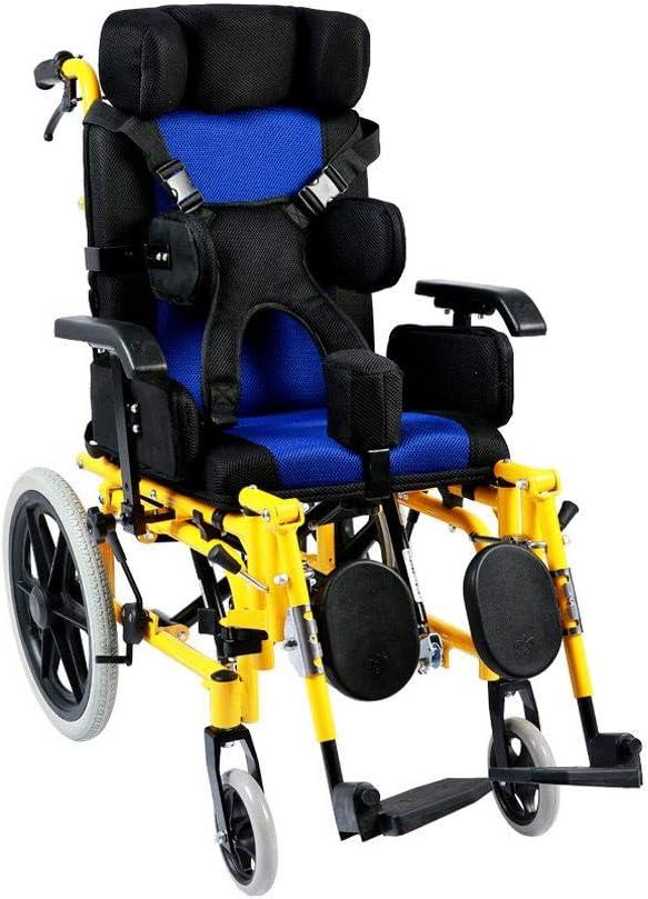 Wheelchair Lightweight Folding Jacksonville Mall Disa Children's Multi-Functional Bombing free shipping