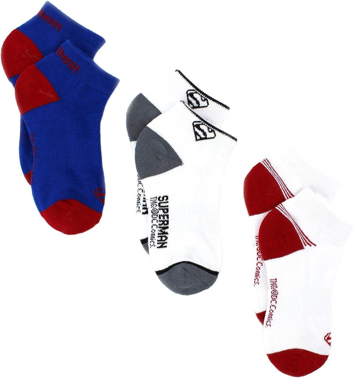 Superman Boys 3 pack Performance Socks (Little Kid/Big Kid)