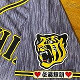 阪神 タイガース 刺繍ワッペン 佐藤 輝明 ネーム 袖 応援 ユニフォーム 佐藤輝明