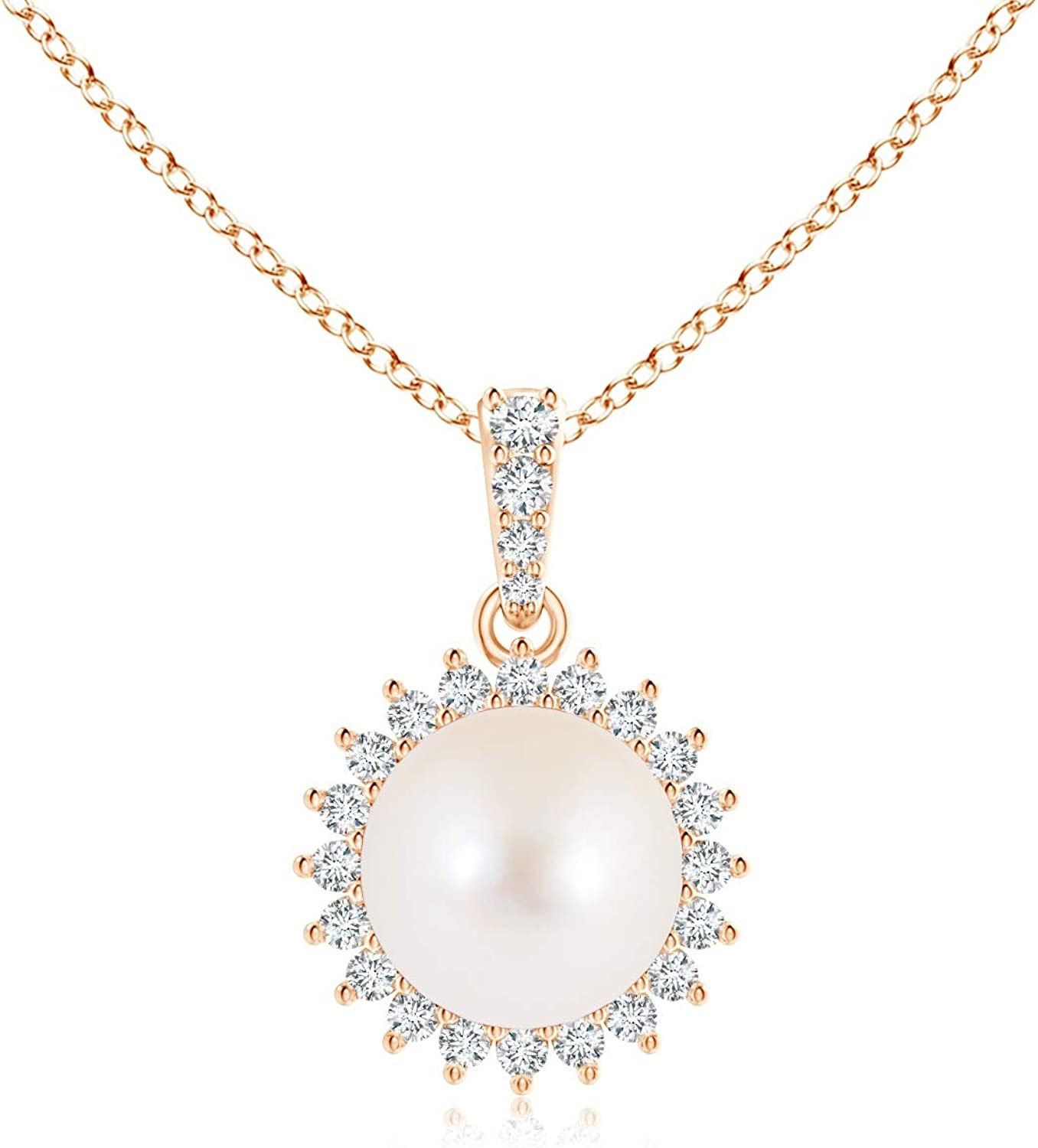 Vintage excellence Inspired Freshwater Cultured Freshwat Pearl 8mm Pendant Large-scale sale