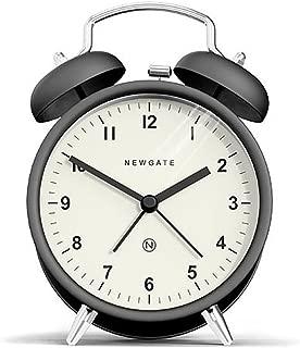 Newgate Charlie Bell Alarm Clock, Matte Black