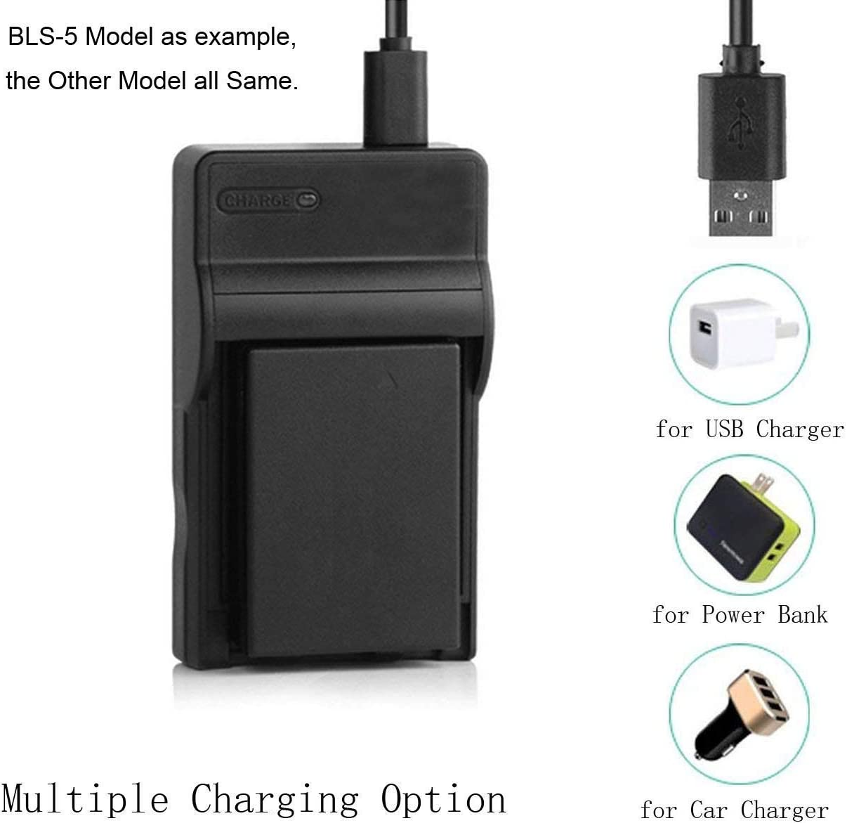 SCL906 Battery Charger for Samsung SCL901 SCL903 SCL907 Digital Video Camcorder