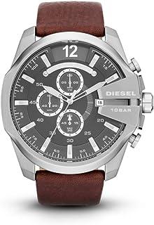 Diesel Mega Chief Analog Grey Dial Men's Watch - DZ4290