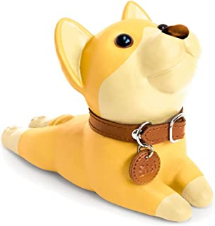 DomeStar Cute Dog Door Stopper, Shiba Inu Door Stop Decorative Animal Doorstop Door Wedge