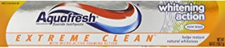 Aquafresh Extreme Clean Whitening Action Toothpaste Mint Blast - 5.6 oz, Pack of 6