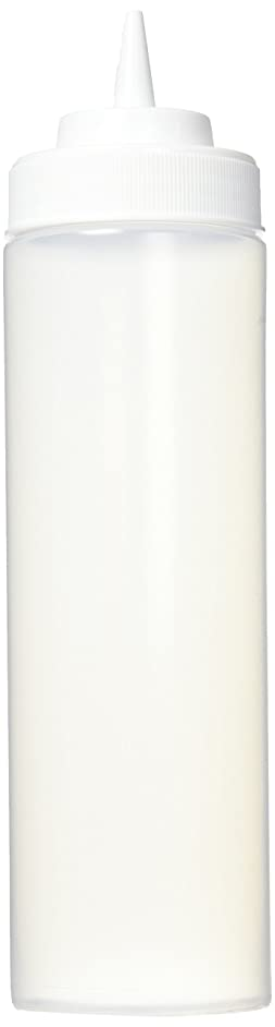 Winco Wide Mouth Squeeze Bottles 24-Ounce, 6-Pack