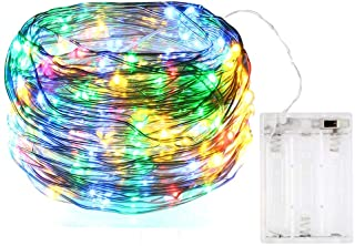 3 Pack of Battery Operated LED String Lights, 10ft/3M 30 LEDs Copper Wire Fairy Ambiance Lighting for Home Bedroom Patio C...