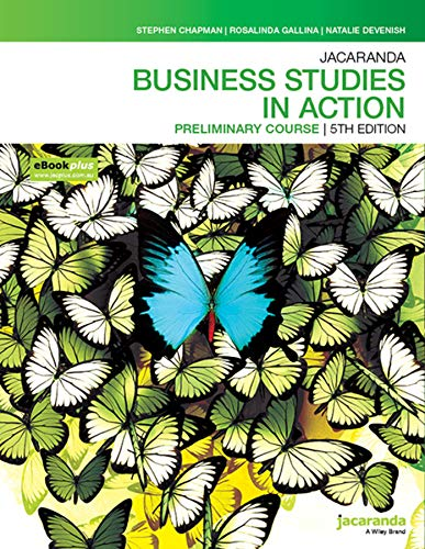 Jacaranda Business Studies in Action Preliminary course 5e eBookPLUS & Print (Business Studies in Action Series)