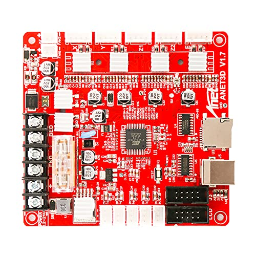 Funien Tablero de Control de Anet,Anet Control A1284-Base Placa Madre Placa Base para la Junta de Impresora Anet A8 DIY Automontaje Escritorio 3D RepRap Kit i3