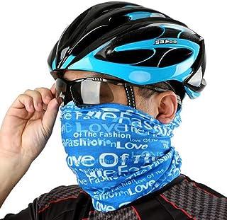 8haowenju Bandana、バラエティマジックヘッドスカーフ、多機能スポーツサイクリングヘッドバンド、防風日焼け止めスカーフ、UVヘッドギア、アウトドアマジックヘッドバンド、男性と女性の帽子、リストストラップ、ネックシールド、ヘッドギア、ヘルメットパッド、マスク、キャンプ、ランニング、サイクリング、釣り サンプロテクション、フェイスプロテクション