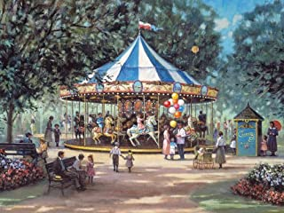 Cobble Hill Carousel Ride 275 Piece Easy Handling Puzzle
