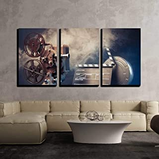 wall26 - Filmmaking Concept Scene - Canvas Art Wall Decor - 16