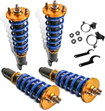 MOSTPLUS Adjustable Height Coilovers Struts for 1990-2001 Acura Integra /1988-2000 Honda Civic (Set of 4)