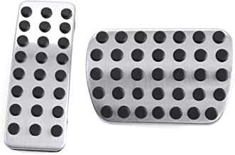 etopmia Stainless Steel Sport Pedal Pads fit Mercedes Benz M GL R Class AMG