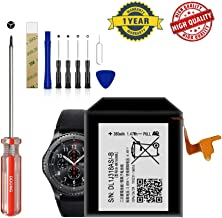for Samsung Gear S3 Frontier/Classic Replacement Battery EB-BR760ABE Free Adhesive Tool