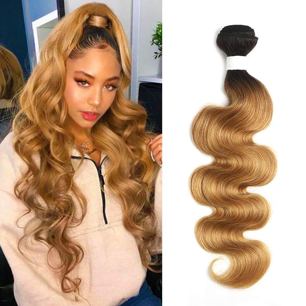X-TRESS Body Wave Human Quantity limited Hair Bundles One Max 90% OFF Blon Ombre Bundle Honey
