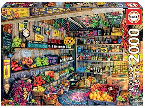 Educa - Tienda de Comestibles Puzzle, 2000 Piezas, Multicolor, 2.000 (17128)