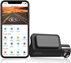 70mai Mini Dash Cam, 2K Smart Car Camera 1600p, WiFi Dash Camera for Cars 2560x1600, Parking Monitor, Screen-Less Minimalist Design, Night Vision, Motion Detection, iOS/Android Mobile App WiFi (2021)