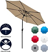 small outdoor sun umbrellas
