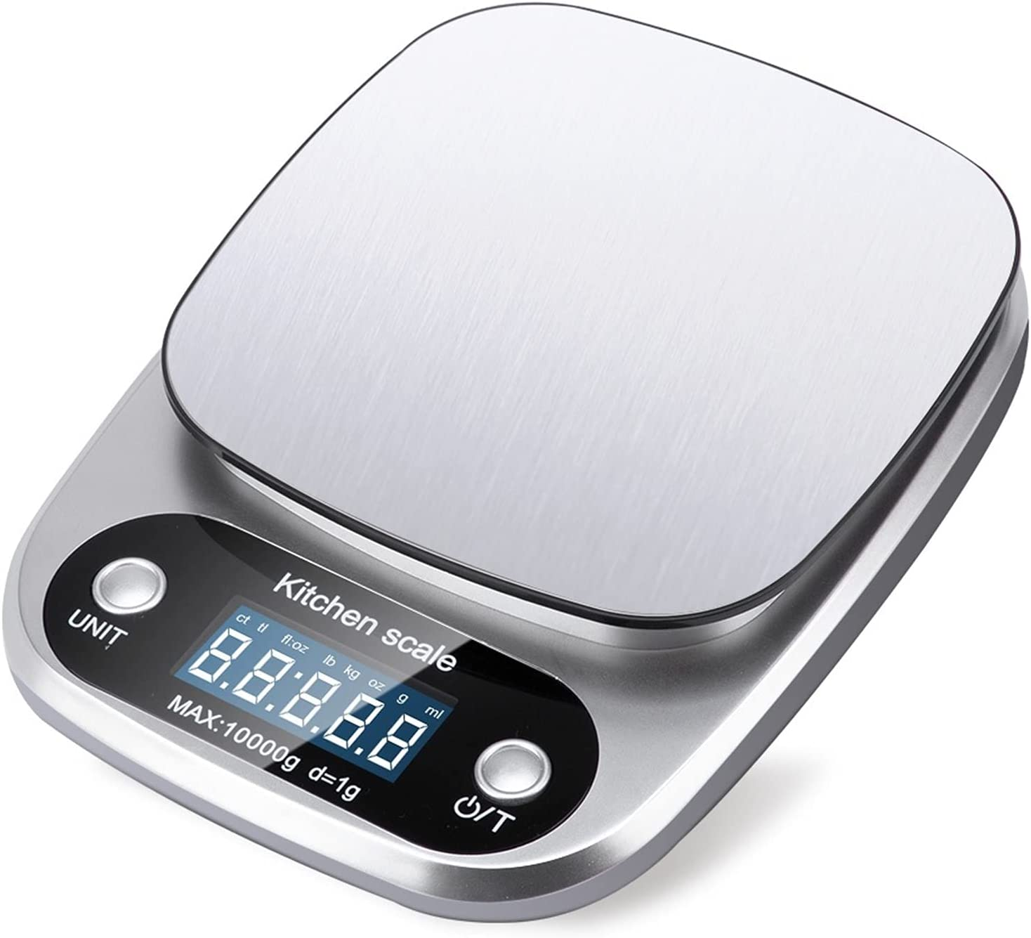 5kg 10g 1g 0.1g Digital Arlington Mall Scale Deluxe Kit LCD Portable Electronic Scales