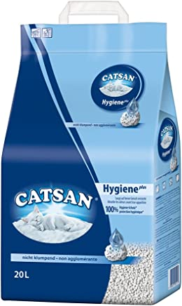 Catsan Hygiene Cat Litter for Cats and Kittens, 1 Bag (1 x 20 L)
