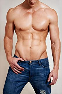 Man of Muscle Hot Guy in Jeans Photo Art Print Cool Huge Large Giant Poster Art 36x54
