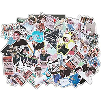 Kpop Bangtan Boys Stickers 135pcs Laptop Luggage Patches Skateboard Sticker Gifts for Army Daughters  135pcs