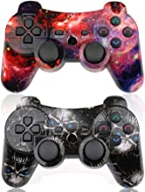 CHENGDAO PS3 Controller Wireless 2 Pack Double Shock Gamepad for Playstation 3..