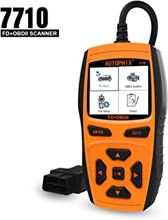 AUTOPHIX 7710 Scanner for Ford Cars Diagnostic Battery ABS Airbags Scan Tool Obd2 Vehicles
