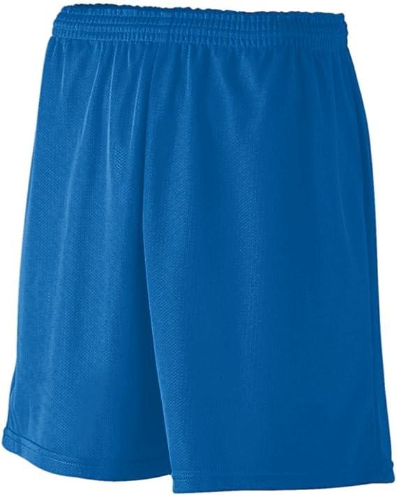 Augusta Youth Longer Length Mini Mesh League Short