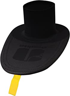 Nookie Absolute White Water Spray Deck Sailing Keyhole Black - Unisex - Easy Stretch - Tough 4mm Armotex Neoprene Deck