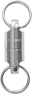 KeySmart MagConnect - Quick, Secure Key Attachment to Bag, Purse & Belt - Easy Access to Keys (Titanium)