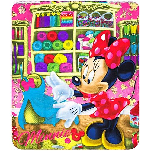 Plaid polaire Minnie Mouse couverture enfant couture