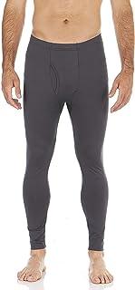 Bodtek Mens Thermal Underwear Pants Long Johns Fleece Lined Base Layer Bottom