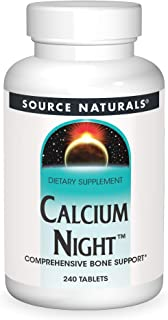 Source Naturals Calcium Night, 240 Tablets