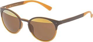 Police - SPL162V506L2H Gafas de sol, Marrón, 50 Unisex