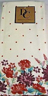 Deborah Connolly Floral Kitchen Tea Towels 2 Pk. Multi Color 100% Cotton 18