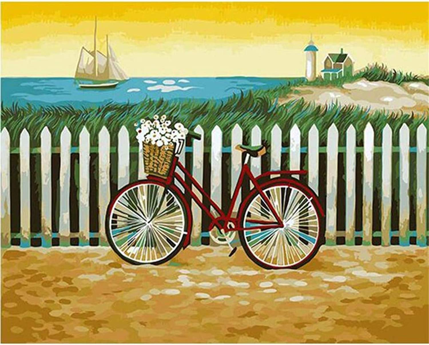 Jigsaw Puzzle 1000 Piece Bicycle Classic Puzzle DIY Kit Wooden Toy Unique Gift Home Decor